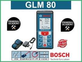 Medidor Bosch GLM 80   Con sensor de inclinación 360º