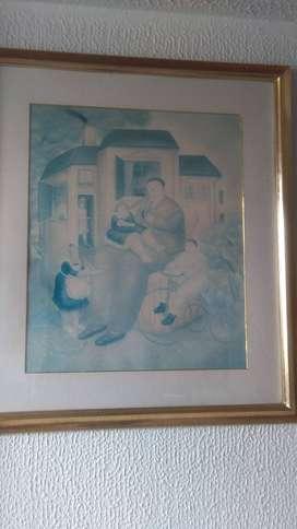 Vendo litografía de Botero y de Negret