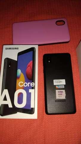 Samsung A01 Core nuevo en caja con todos sus accesorios.