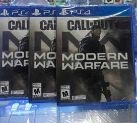 Call Of Duty Modern Warfare 2019 Ps4 Nuevo Sellado Stock