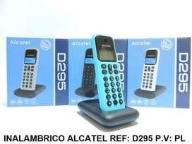 Teléfono Inalámbrico Alcatel Identificador, Altavoz, NUEVOS!!!