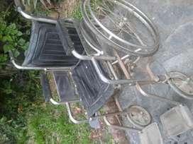 Silla de ruedas poco uso