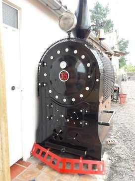 Horno Locomotora Totalmente Metalico