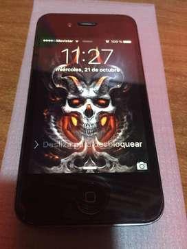 iPhone 4s de 16 gb totalmente funcional libre de imei y de icloud