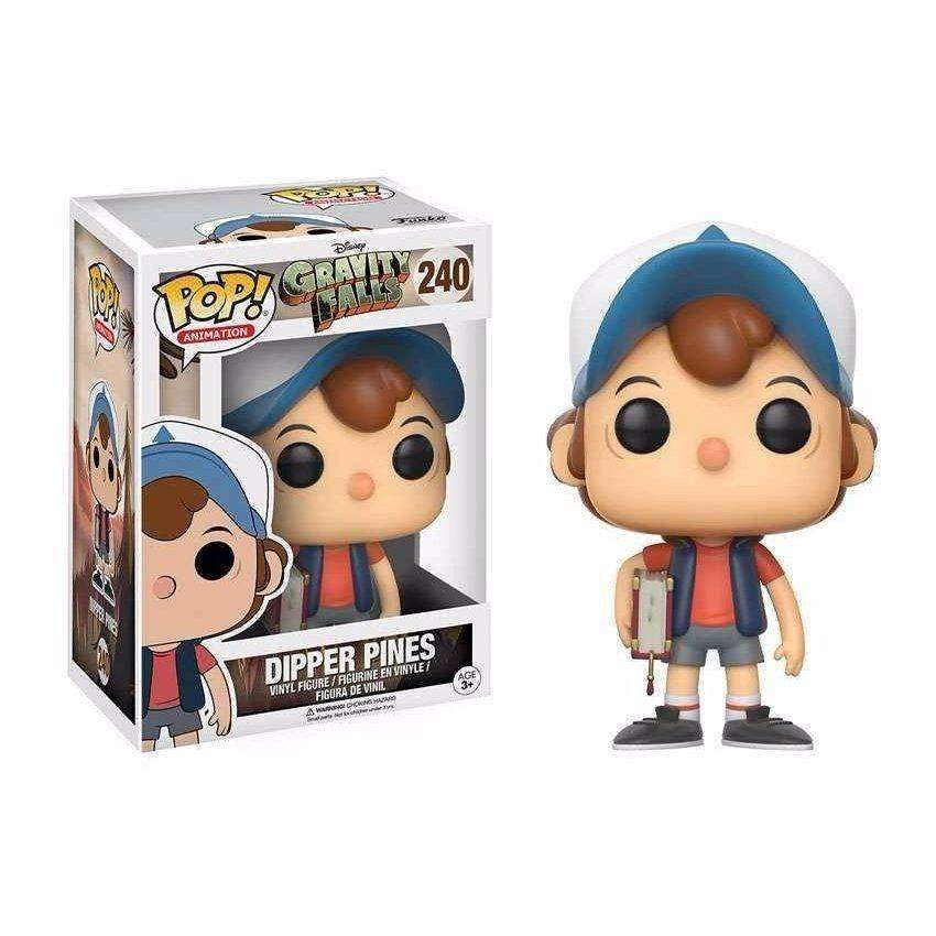 Funko Pop Dipper Pines Gravity Falls Disney 0