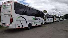 Servicio de transporte de pasajeros en bus en Cali