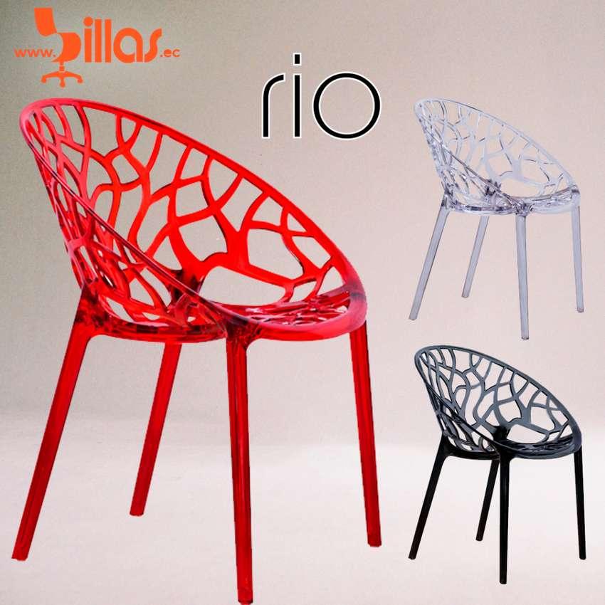 silla transparente estilo diseño 0