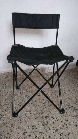 Silla Camping Plegable Impecable Sin Uso