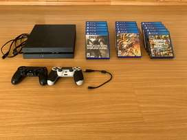 PS4 + 2 Mandos y 5 Juegos eleccion