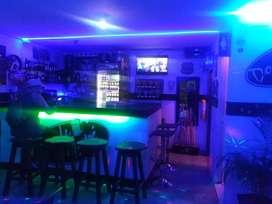 Bar donde andre acreditado.