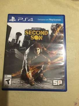 Vendo Infamous Second Son Ps4