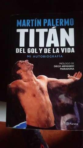 Libro Martín Palermo