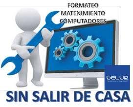 Reparacion - formateo computadores SIN SALIR DE CASA