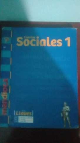 """""""Ciencias sociales 1"""" serie llaves"""