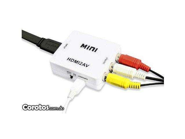 Convertidor Hdmi a Rca 1080p