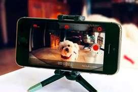 celular como cámara web y audio