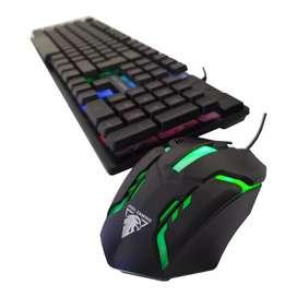 Combo Teclado y Mouse Gamer JEDEL GK110+