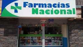 Se vende negocio, Franquicia de Farmacia Nacional