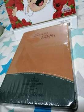 Biblia para líderes verde terracota tapa flexible edición de estudio