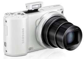 Cámara Samsung Wifi Wb250f FullHDPantalla Táctil Zoom 18x