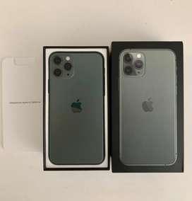 iPhone 11 Pro 64Gb Verde Noche Libre Fabrica Caja