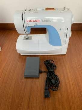 Venta de máquina de coser singer simple