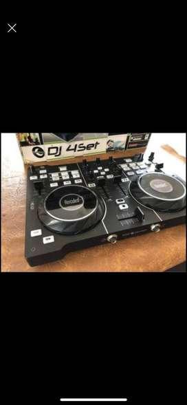 Controladora DJ4SET Hercules