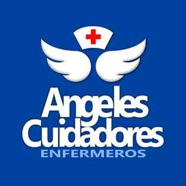 ENFERMEROS DOMICILIARIOS Angeles Cuidadores