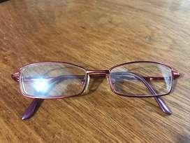 Armazon de anteojos color rojo