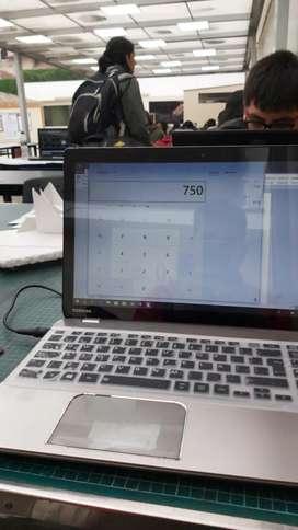 Lapto toshiba i7  con tarjeta de video nvidia 2gb y disco solido 500gb