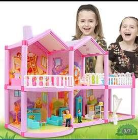 Vendo casa de muñecas importada sellada
