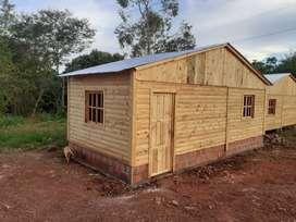 Casa nueva a estrenar en barrio santa barbara, garupa, misiones