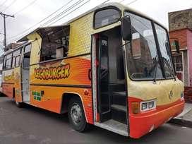 FOOD TRUCK, BUS RESTAURANTE MERCEDES BENZ OH-1420, 1.997