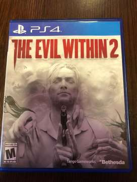 The evil within 2 juego ps4