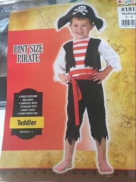 Disfraz Pirata T 3-4