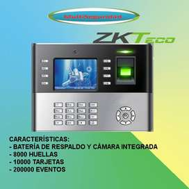 CONTROL DE TIEMPO Y ASISTENCIAZK-ICLOCK990/ID CON CÁMARA INC IVA