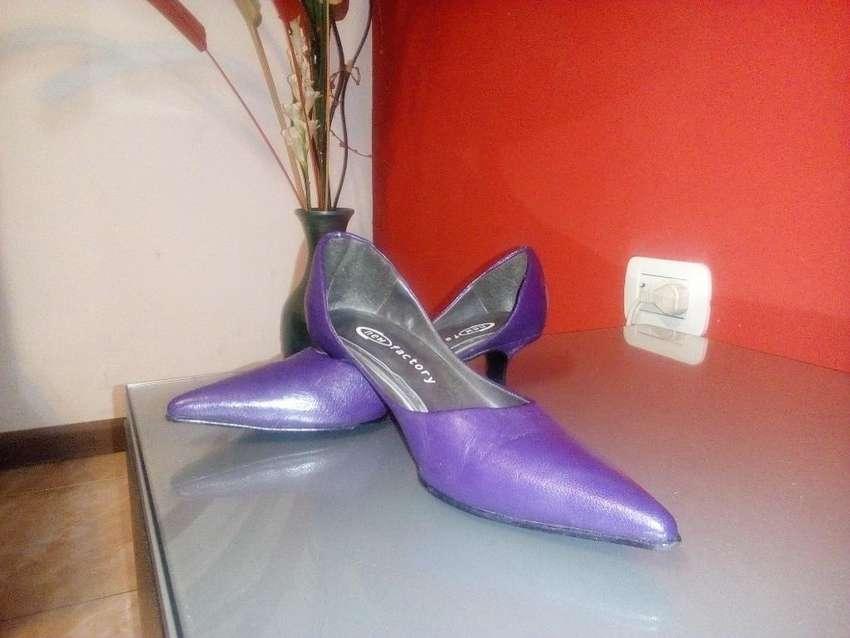 Zapatos Violeta New Factory 0