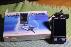 Afinador Cherub WST-650GB Para guitarra o bajo Tipo Clip