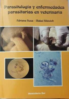 Libro de parasitología en Medicina Veterinaria.