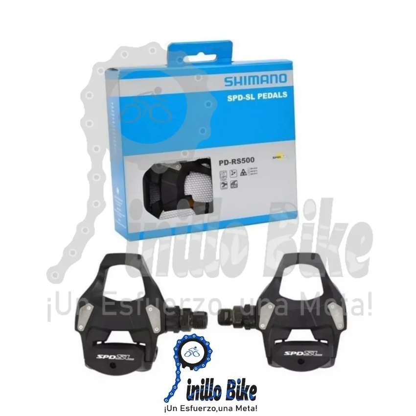 Pedal chocle para bicicleta de ruta-carretera Shimano RS500