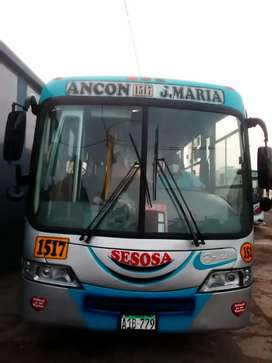 Microbus Hyundai county de la empresa sesosa SAC.