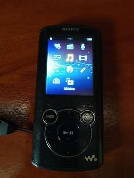 Reproductor Mp4 Mp3 Grabador Sony 8gb