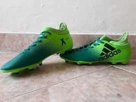 Guayos Adidas X 16.3 talla US 8 1/2