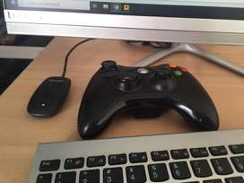 Control Xbox 360 inalambrico con conector microsoft paa el Pc