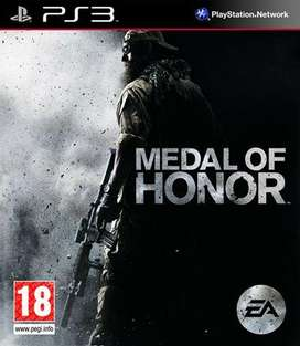 Medal Of Honor para PS3 Solo Venta