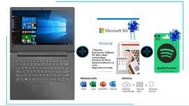 Portatil Lenovo E41-55 Amd Ryzen 3-3250u 4gb DD 1 Tb (Nuevo en caja Sellado)+ Office 365 + Obsequio