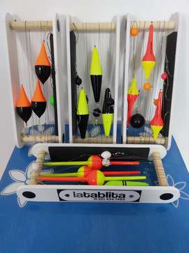 Soportes para líneas de pesca