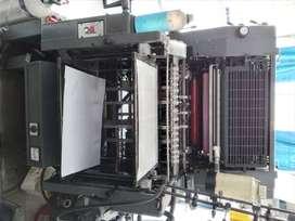 Maquina litografica