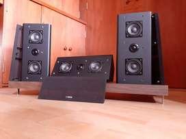 Yamaha parlantes bafles monitores