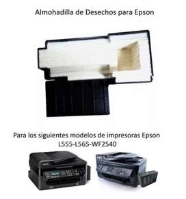 Almohadilla Original Epson L555 - 565